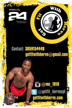 Get fit with Herve flyer back2